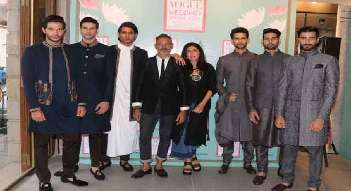 Vogue Wedding Show's collection prelude showcased