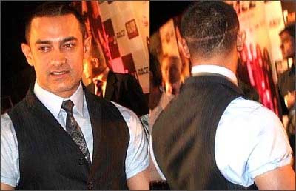 Is Ghajini Aamir Khans favorite look?