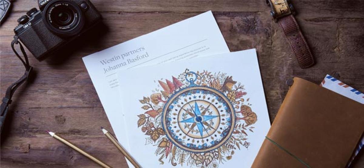 Westin hotels & resorts partners celebrated illustrator Johanna basford in asia pacific