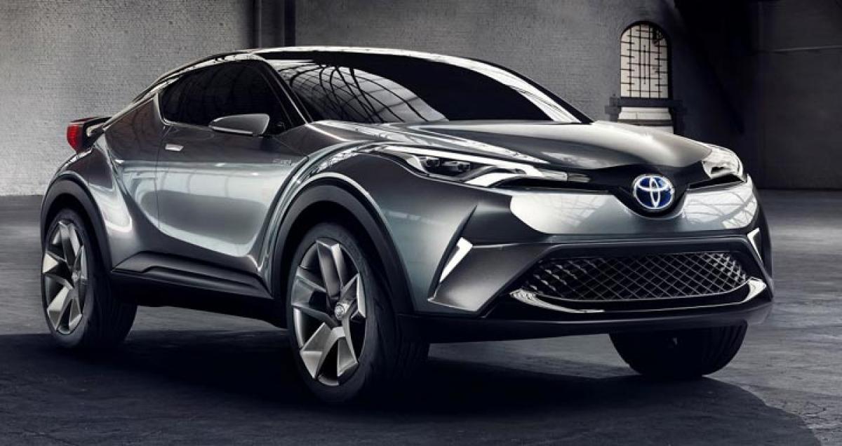 Toyota C-HR production version unveiled