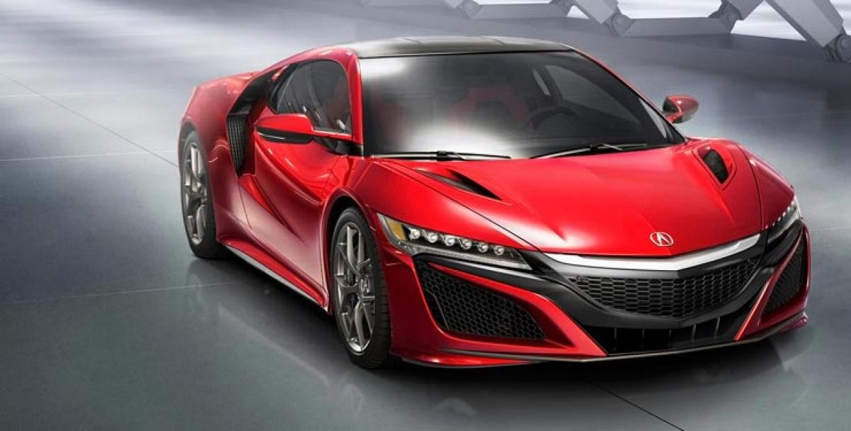 And finally the NSX is ready