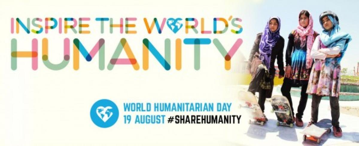 World Humanitarian Day observed today