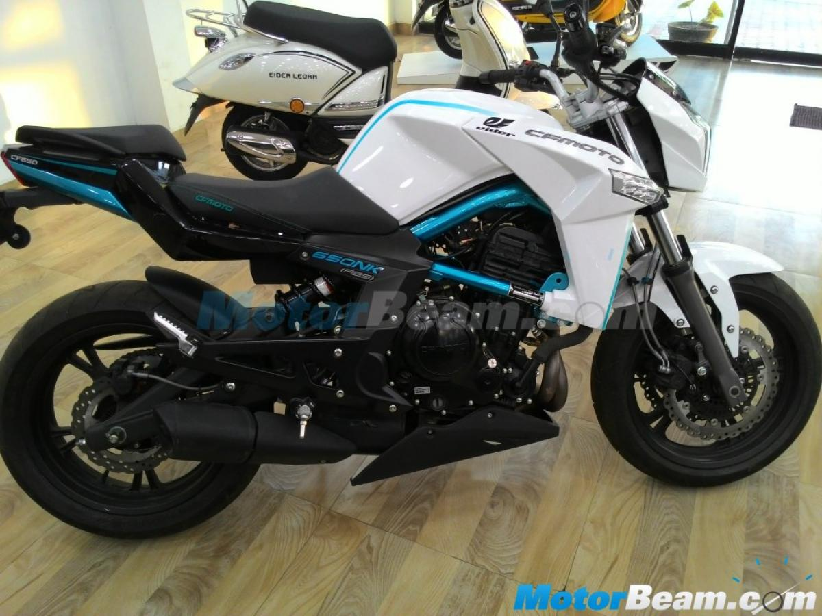 Eider CFMoto 650 NK launched at INR 3.37 lakhs