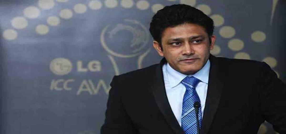 Anil Kumble bets big on new pace trio