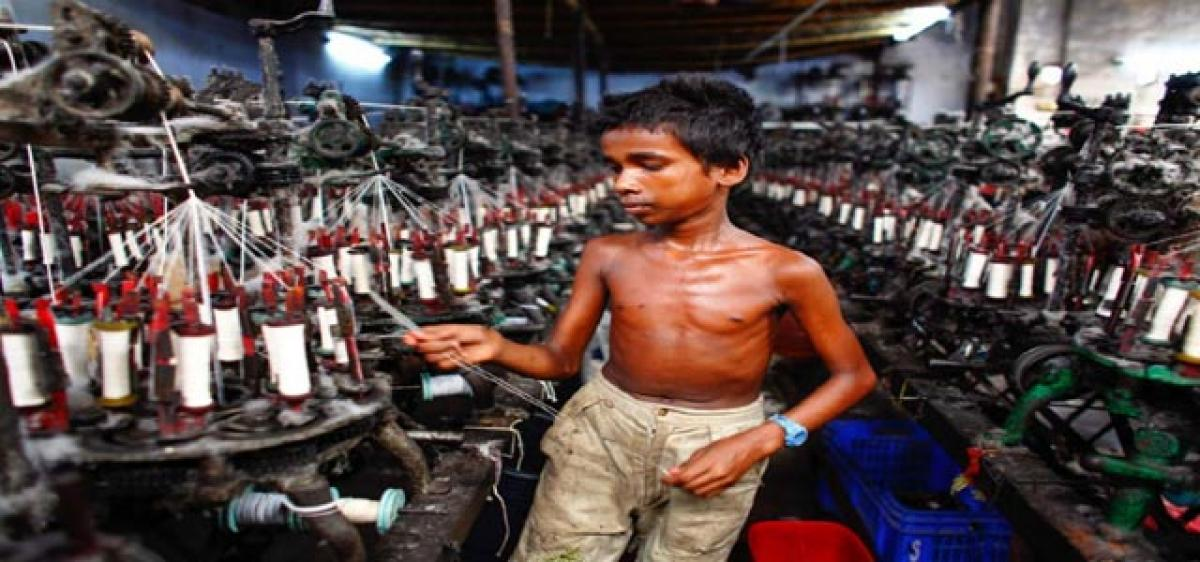 Child slavery shocking in India's textile mills