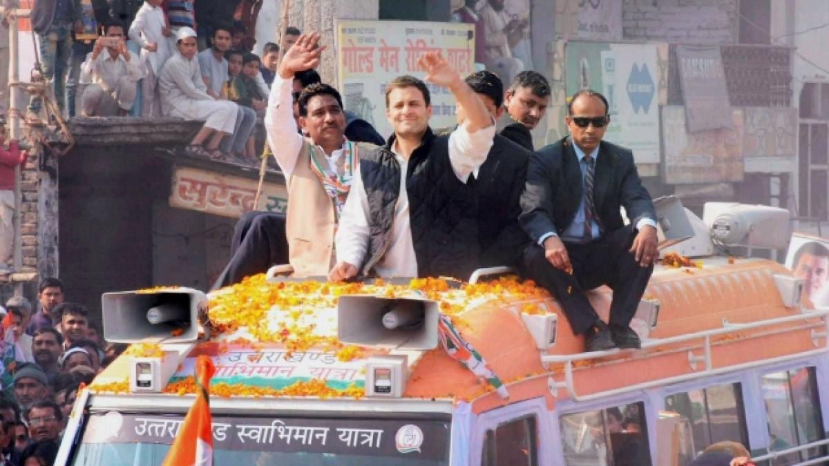 Results not bad, but party little down, says Rahul Gandhi