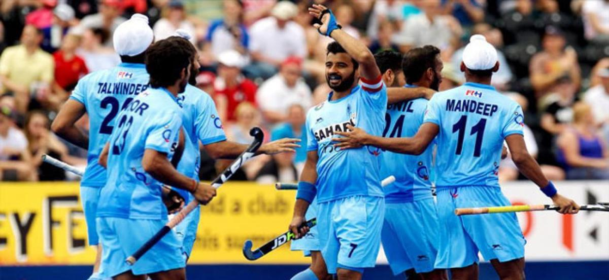 India rout  Pakistan in  Hockey World League