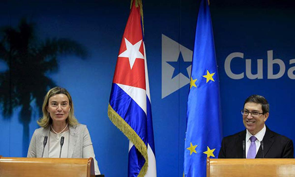 European Union and Cuba sign accord to normalise relations