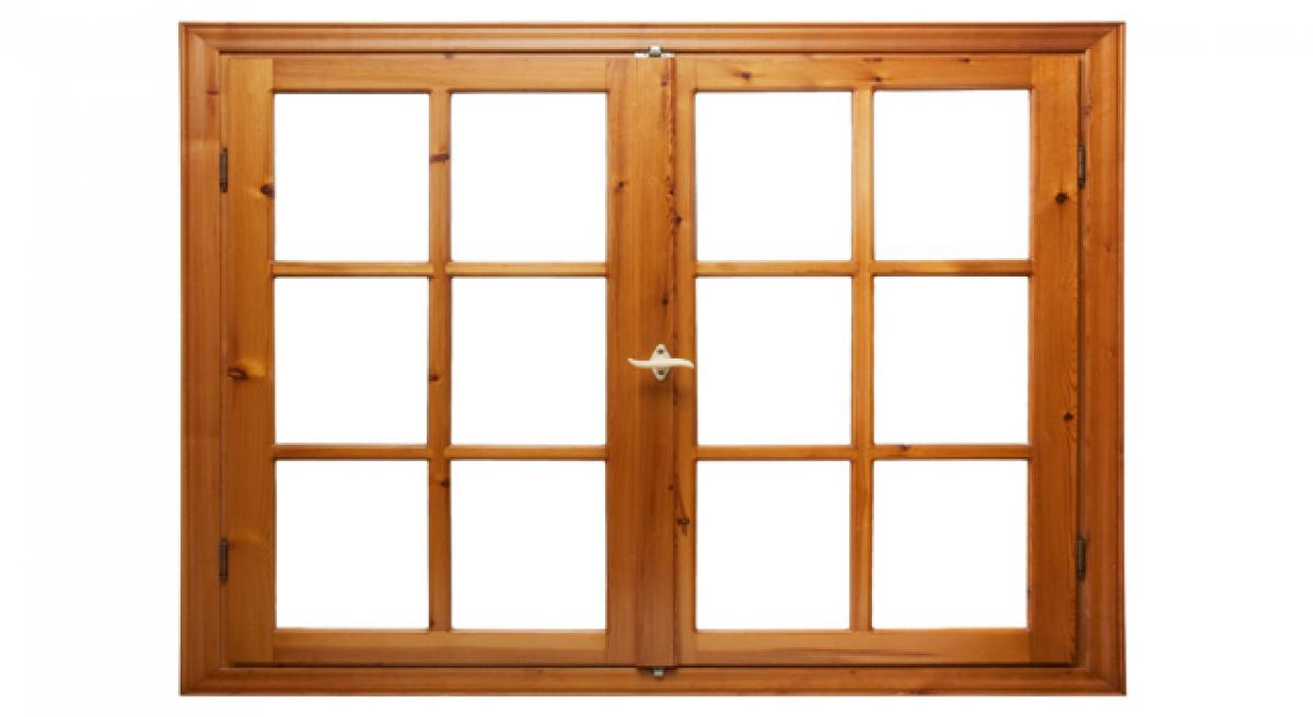 Wood windows cooler than those of glass