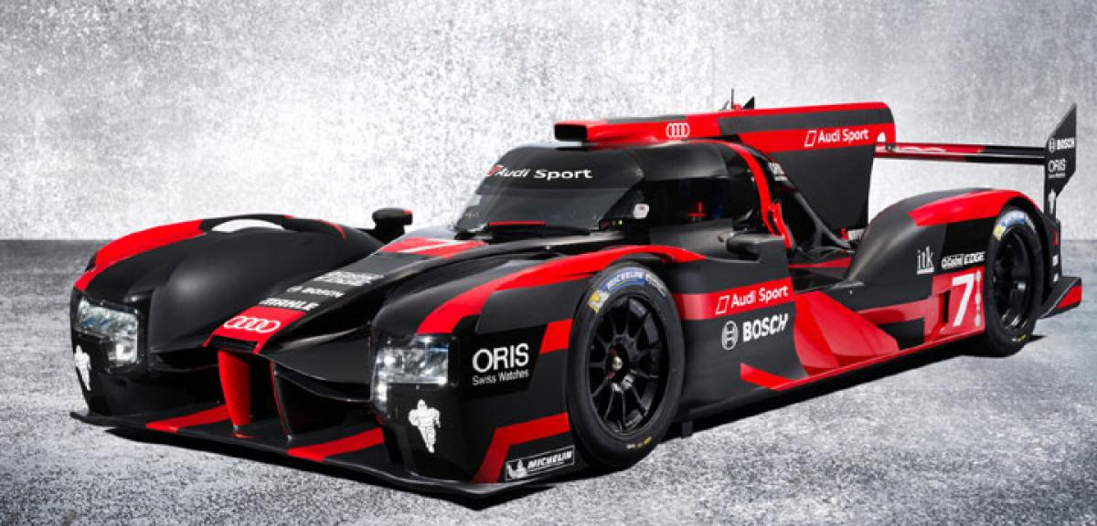 New Audi R18 e-tron racer unveiled