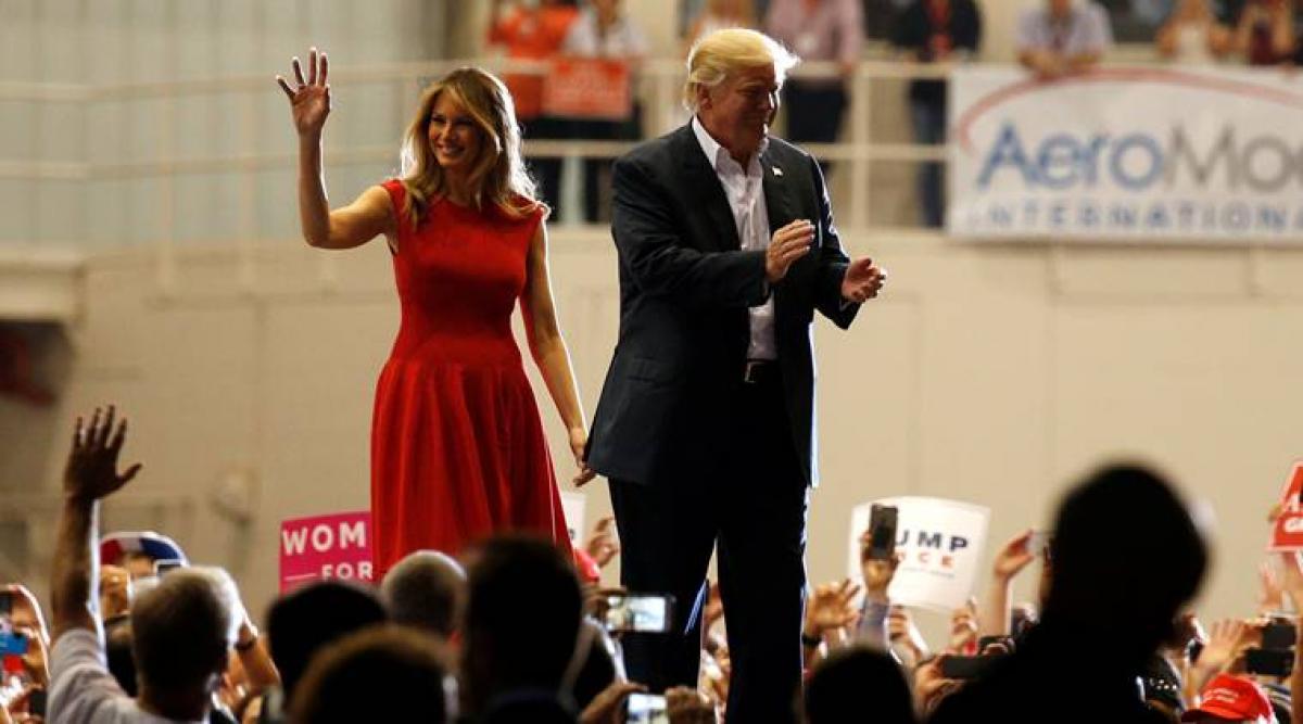 My husband creating safe, prosperous US: Melania Trump