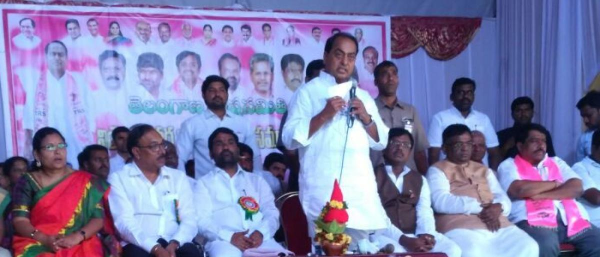 Minister lays foundation for 2BHK