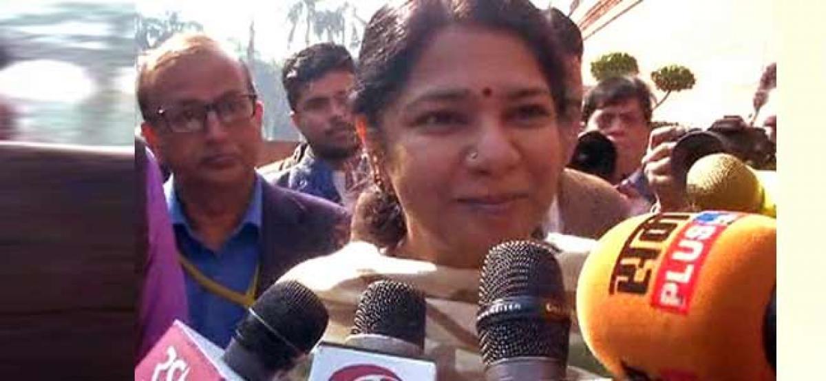 2G scam case: We were wrongly framed, says Kanimozhi