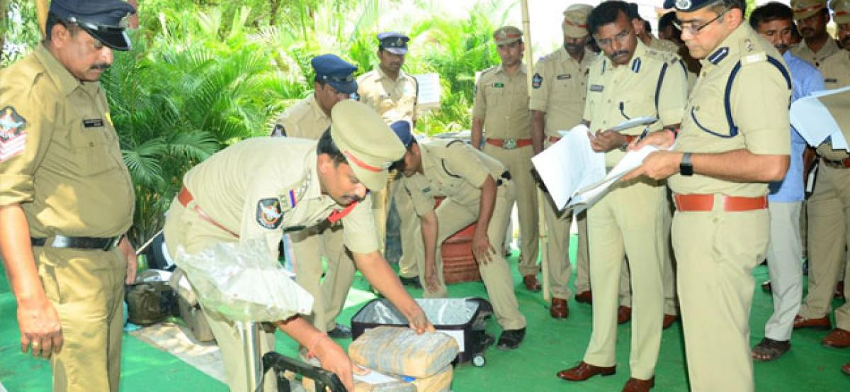 DDC collects ganja samples