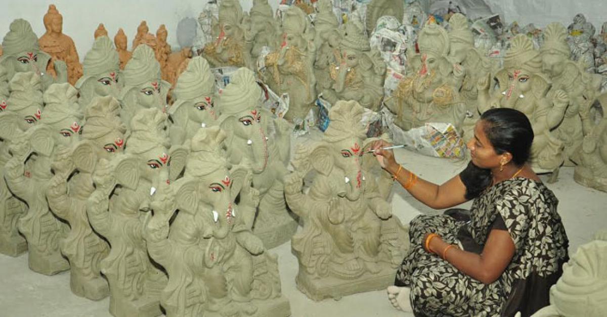 Khammam vows to celebrate eco-friendly Ganesh Chaturthi