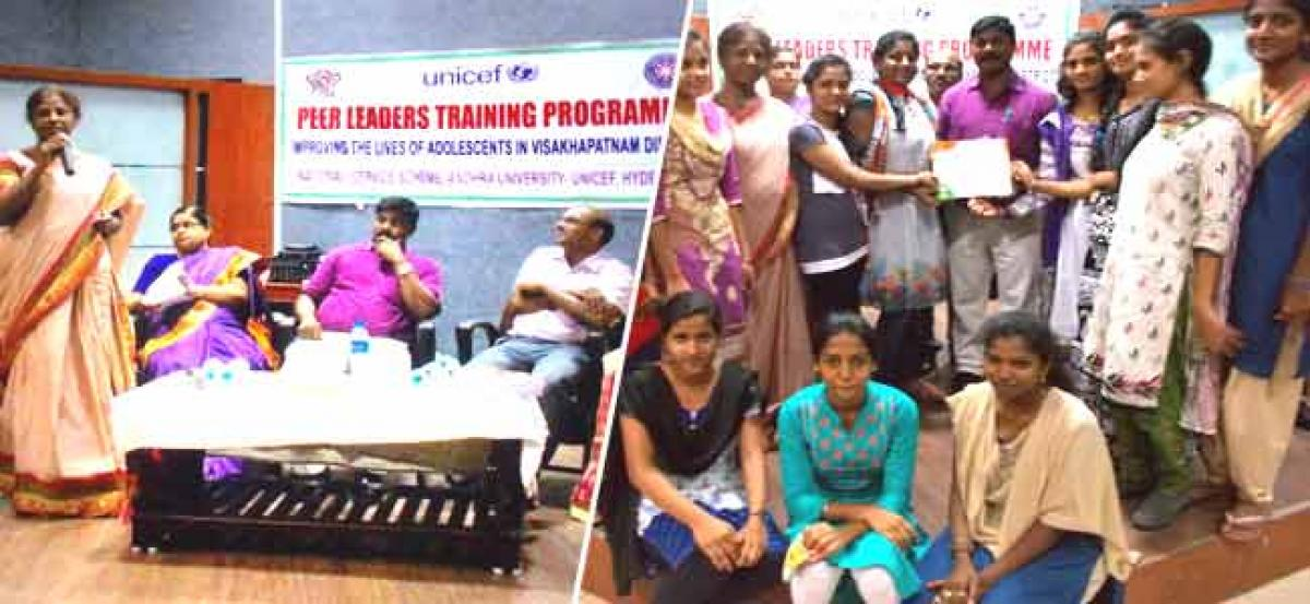 Training to fight against atrocities on adolescents