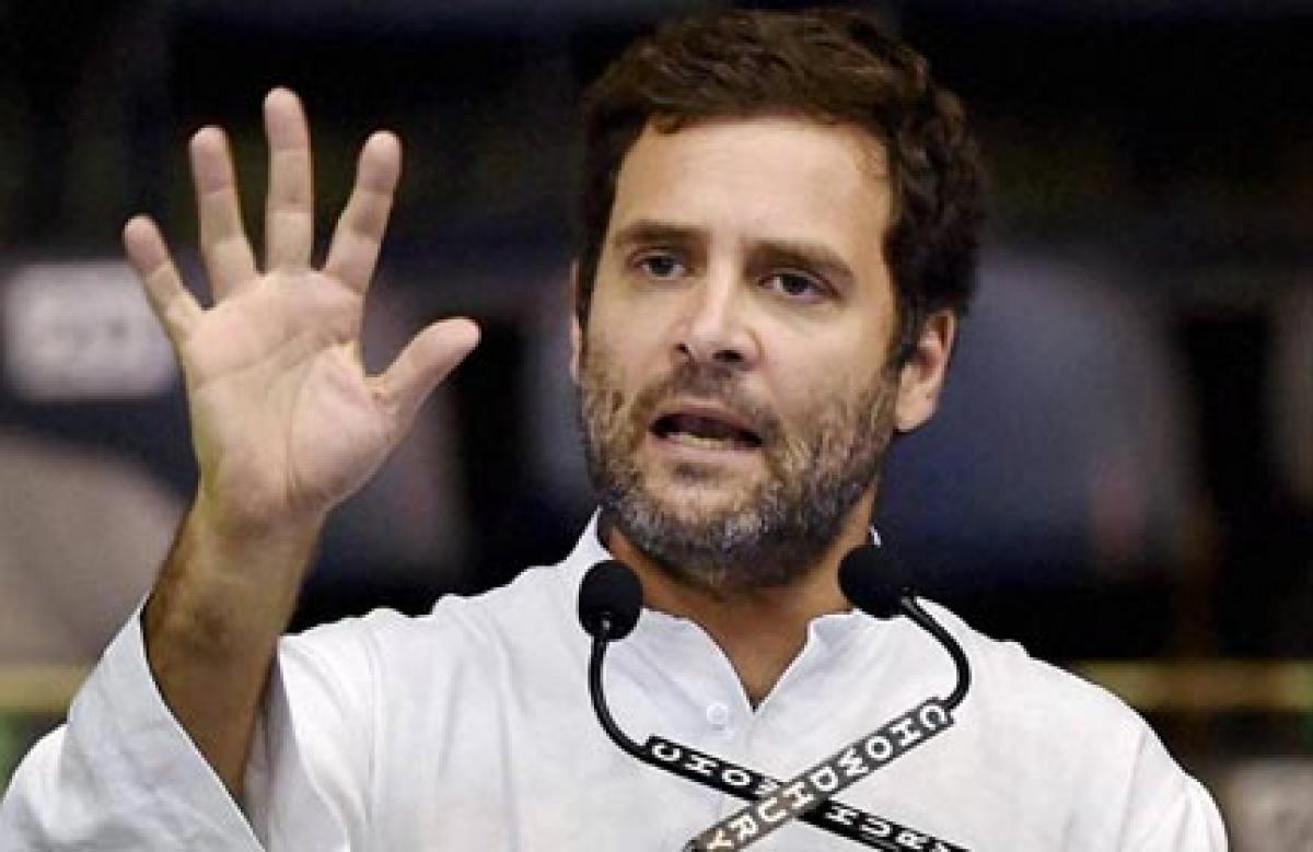 Rahul takes a jibe at Modis Na khaunga na khaane doonga remark
