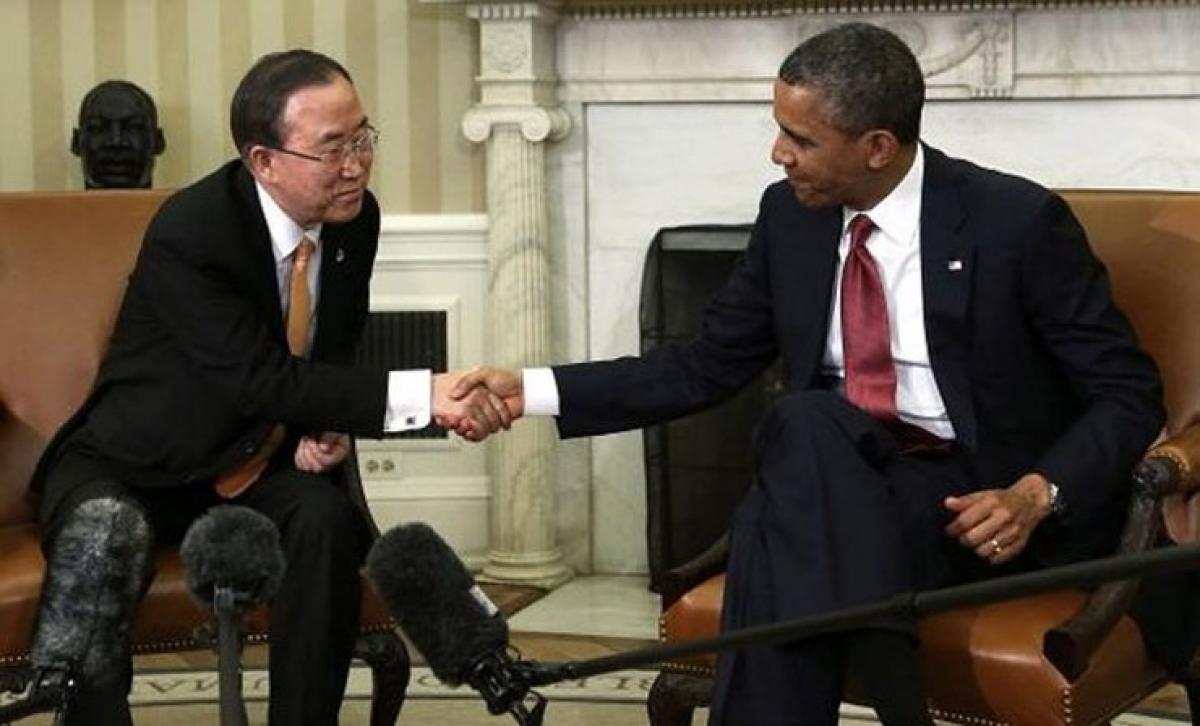 UN chief to meet Obama