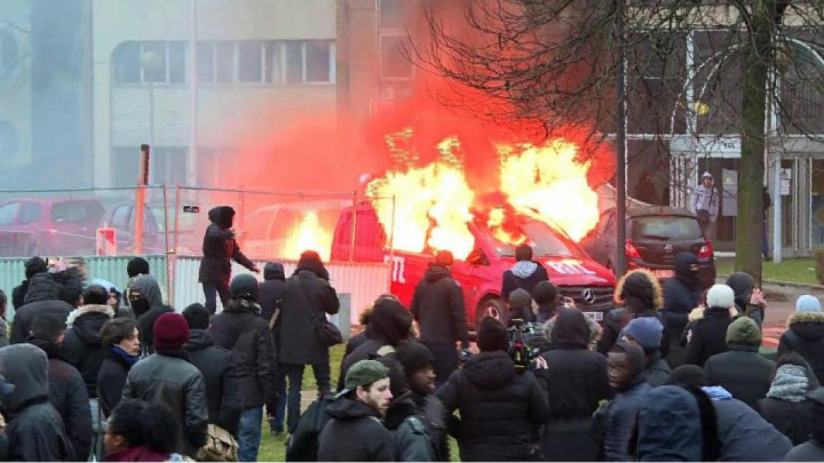 Violent clashes over alleged rape by French police