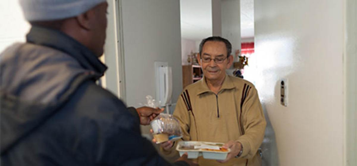 Home delivered meals makes you feel less lonely