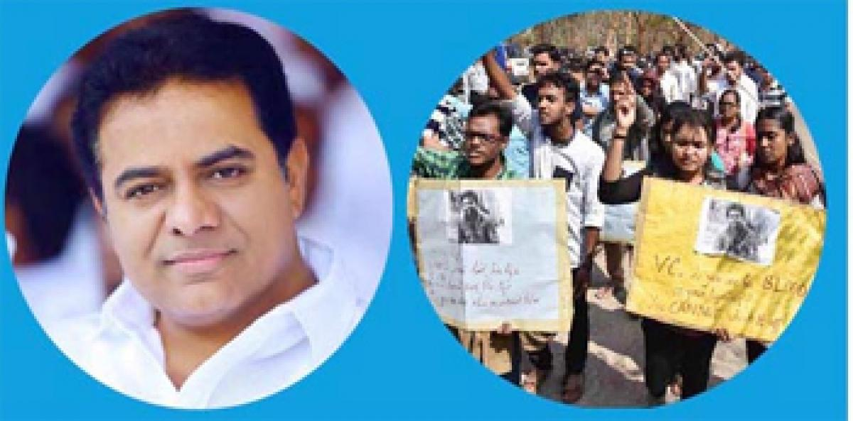 How Telangana State became reality so will be KTR becoming a great leader
