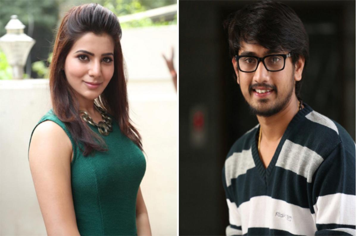 Will Samantha romance Raj Tarun?