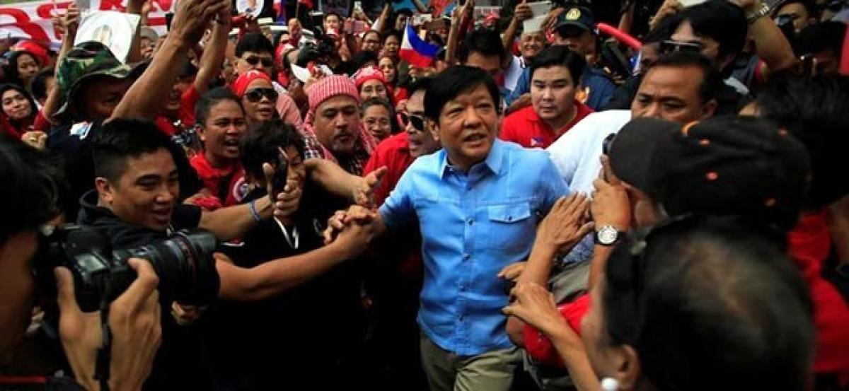 Marcos son takes step towards recount of Philippine VP vote