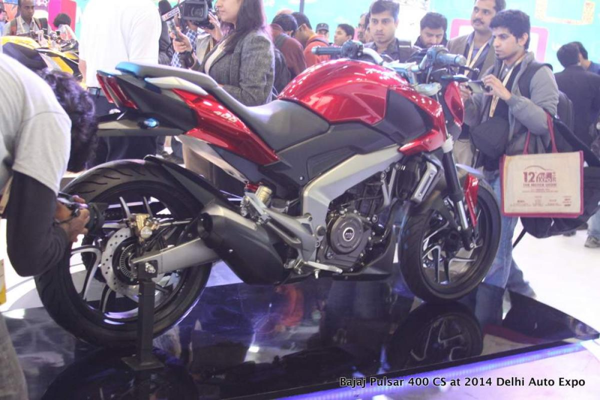 Spotted: Bajaj Pulsar 400 CS in Pune check features