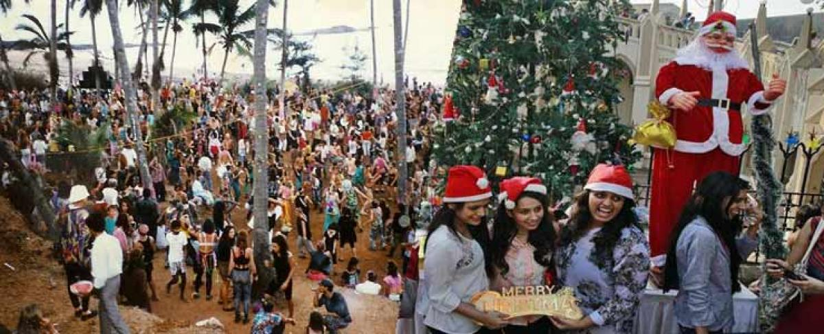 Russian Christmas celebrated in Goa