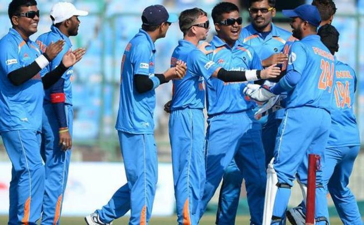 T20 World Cup for Blind: India thrash Australia by 128 runs