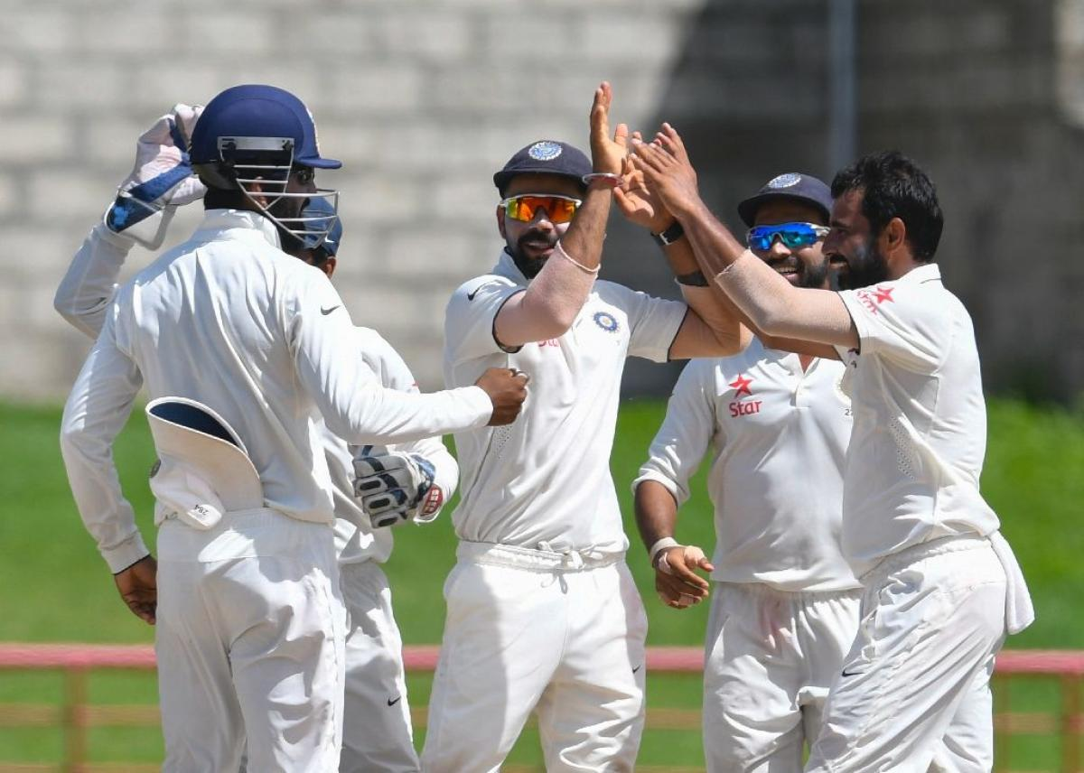 India celebrates 500th Test in style after defeating New Zealand by 197 runs