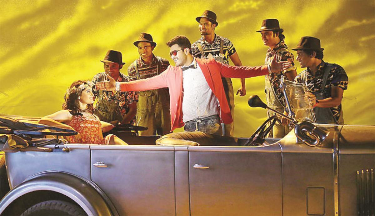 Express Raja: A sitcom revolves around OED