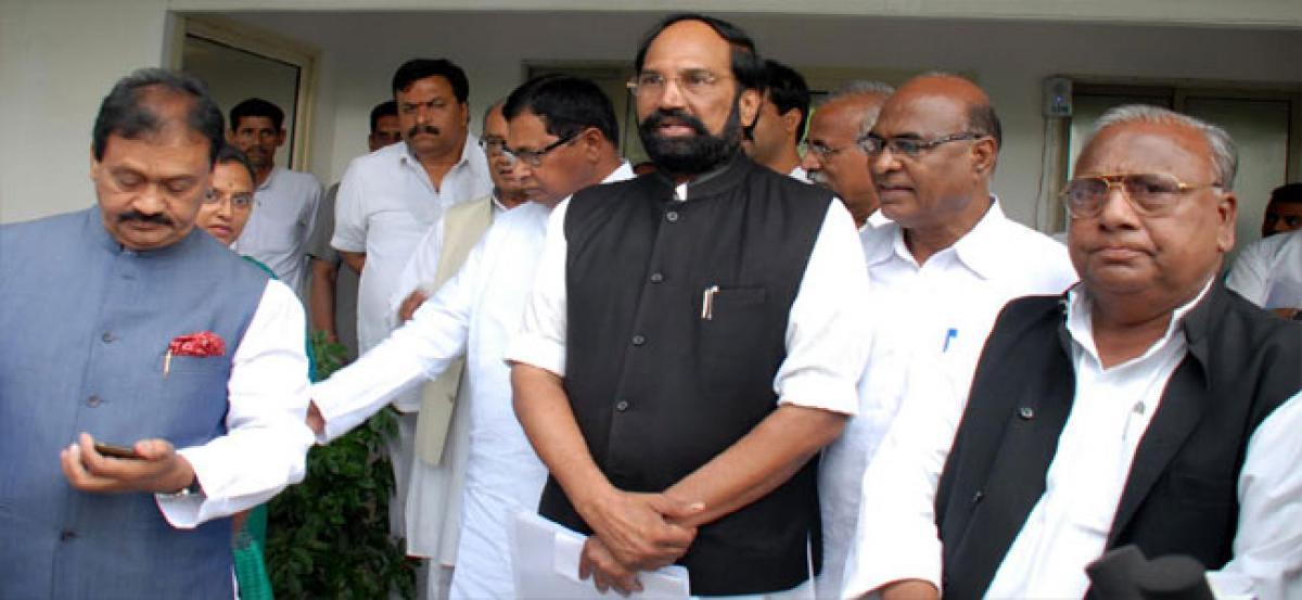 Telangana Rashtra Samithi tacit pact with BJP exposed