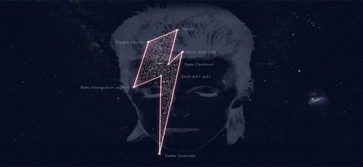 Constellation named after Bowie