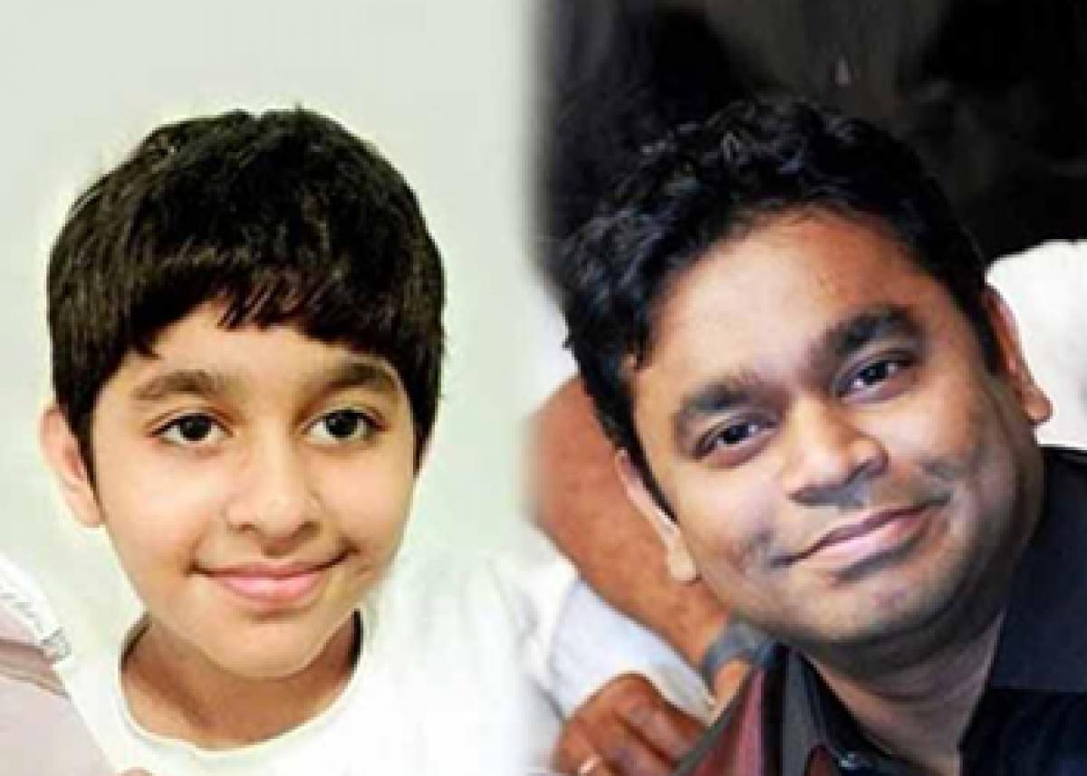 AR Rahmans son makes Telugu singing debut for Nagarjunas production