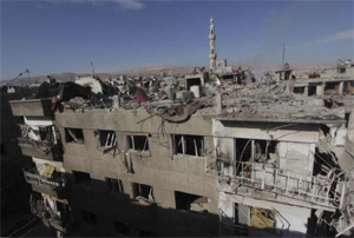 20 rebels killed in Syrian airstrikes