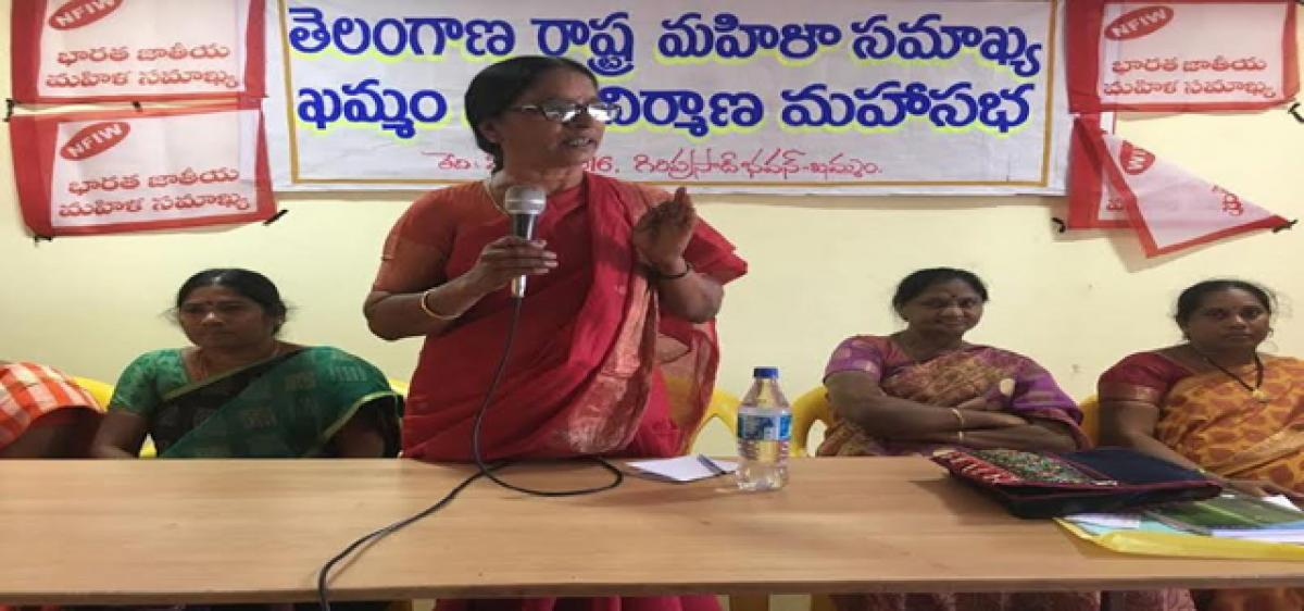 TWF accuses TRS of going back on promises