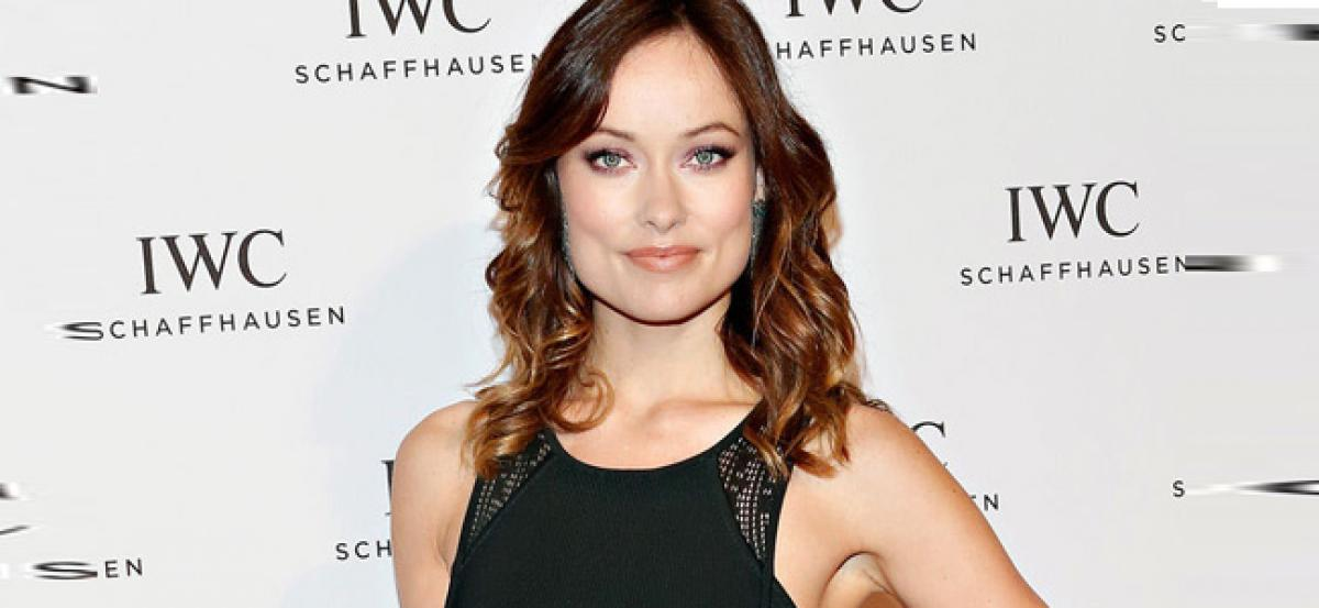 Olivia Wilde has a drill sergeant at home