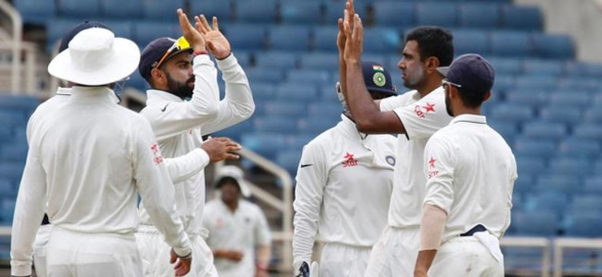 India in control after first day against Windies