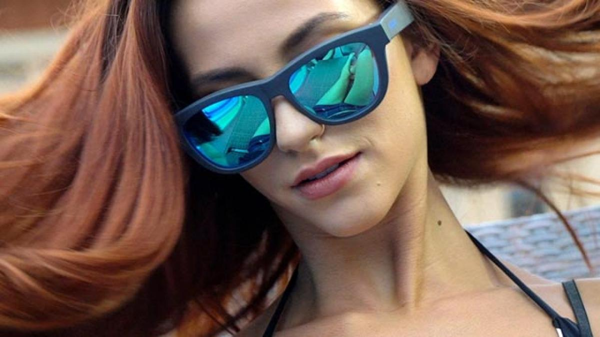 This chic sunglass is back from the future