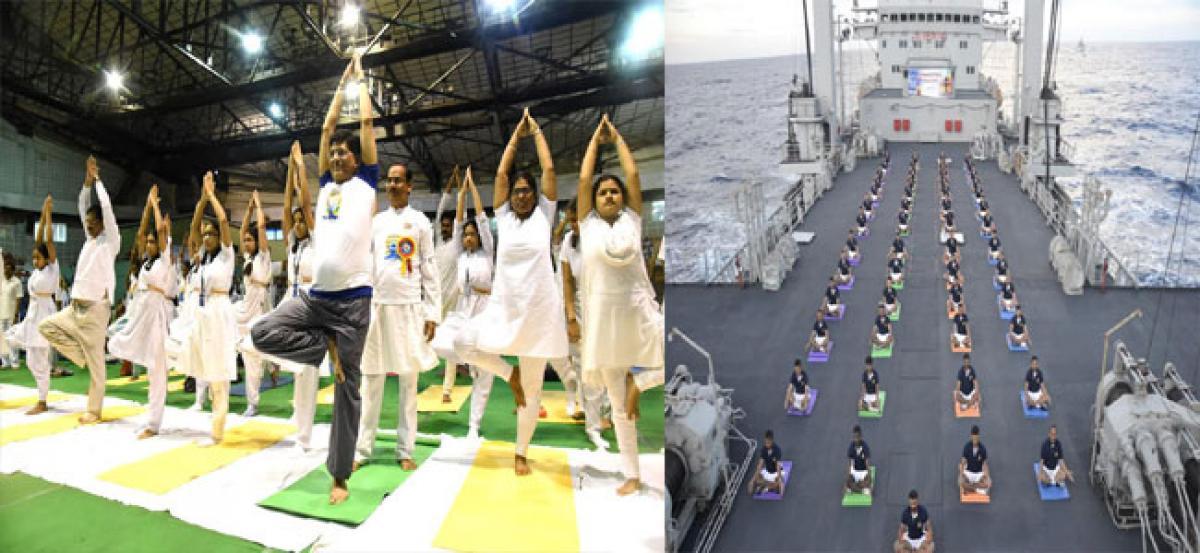 International Day of Yoga observed