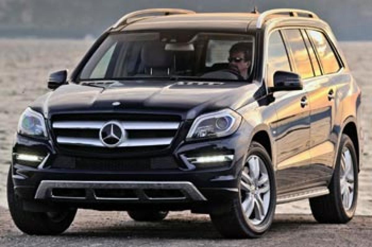 Mercedes-Benz GLS SUV unveiled