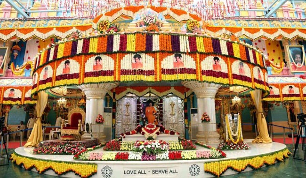 Photos: Guru Purnima Celebrations at Prasanthi Nilayam