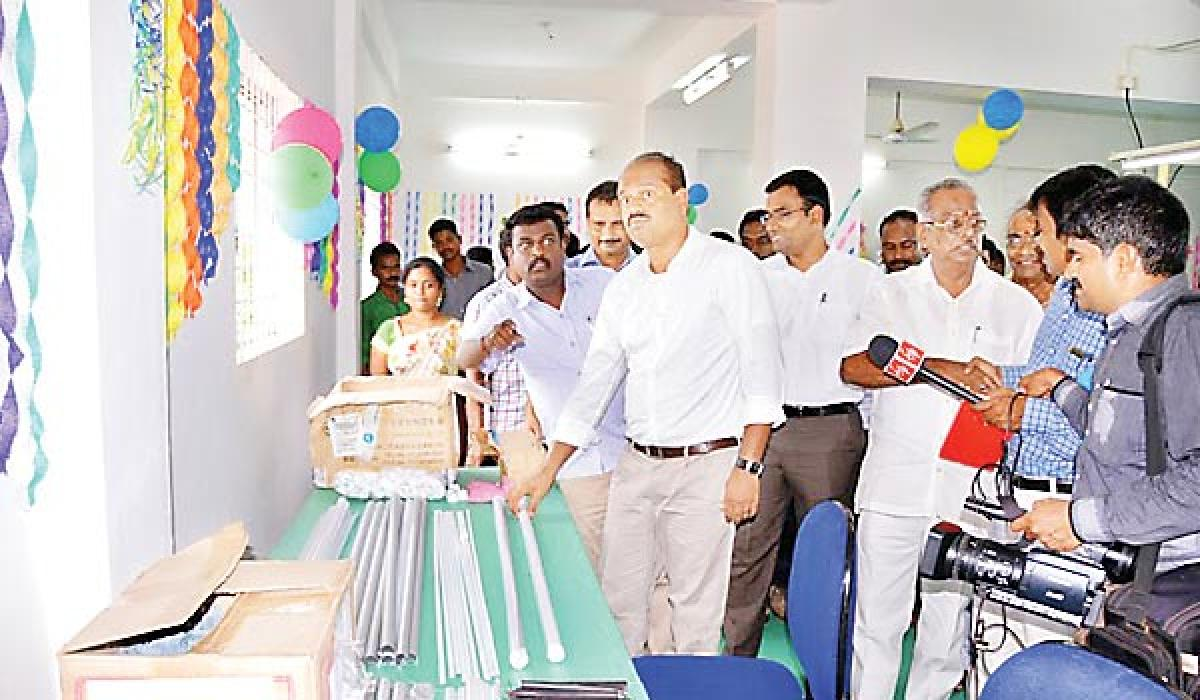 First LED bulb manufacturing unit inaugurated in Agency