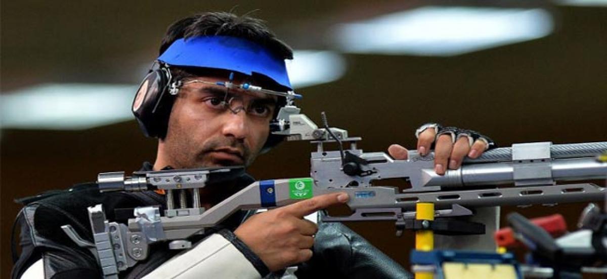 Wayward shots costs Bindra Olympic medal at Rio