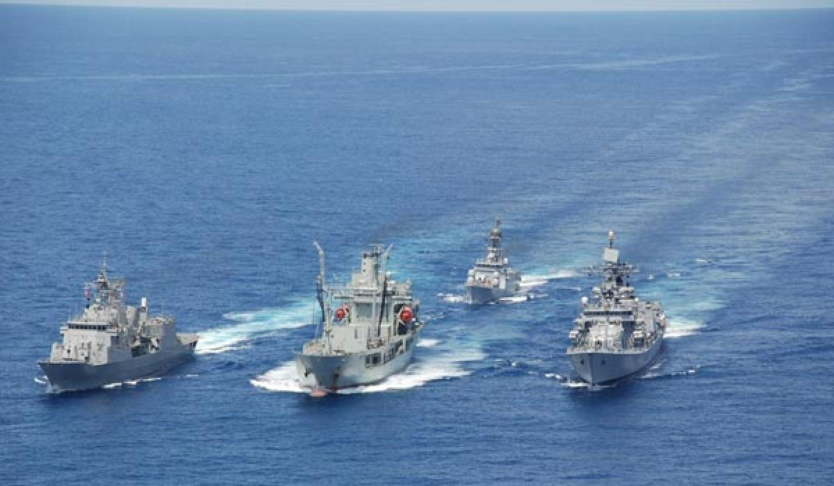 Indian Naval ships enter Malaysia waters