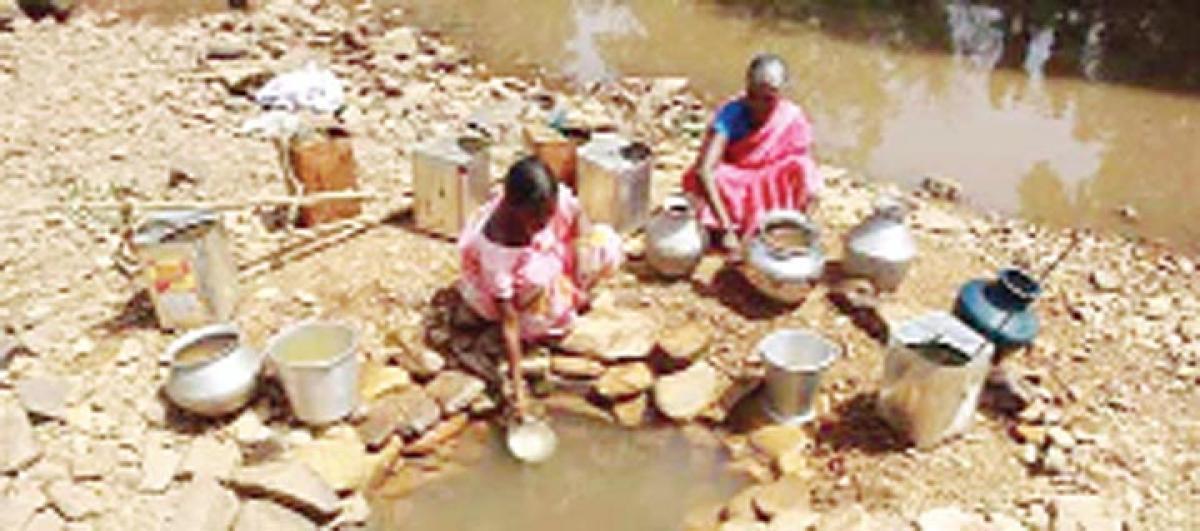 AP CM seeks action plan on drought