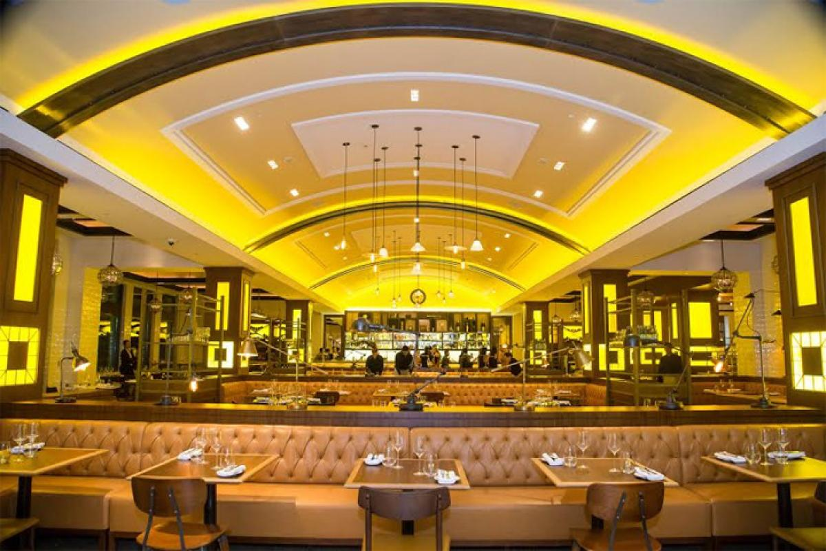Chef Gordon Ramsay launches Bread street kitchen & Bar in Dubai