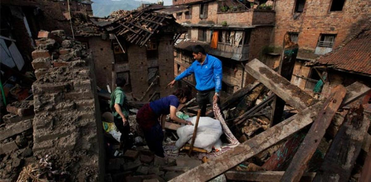 Nepal earthquake caused by groundwater depletion?
