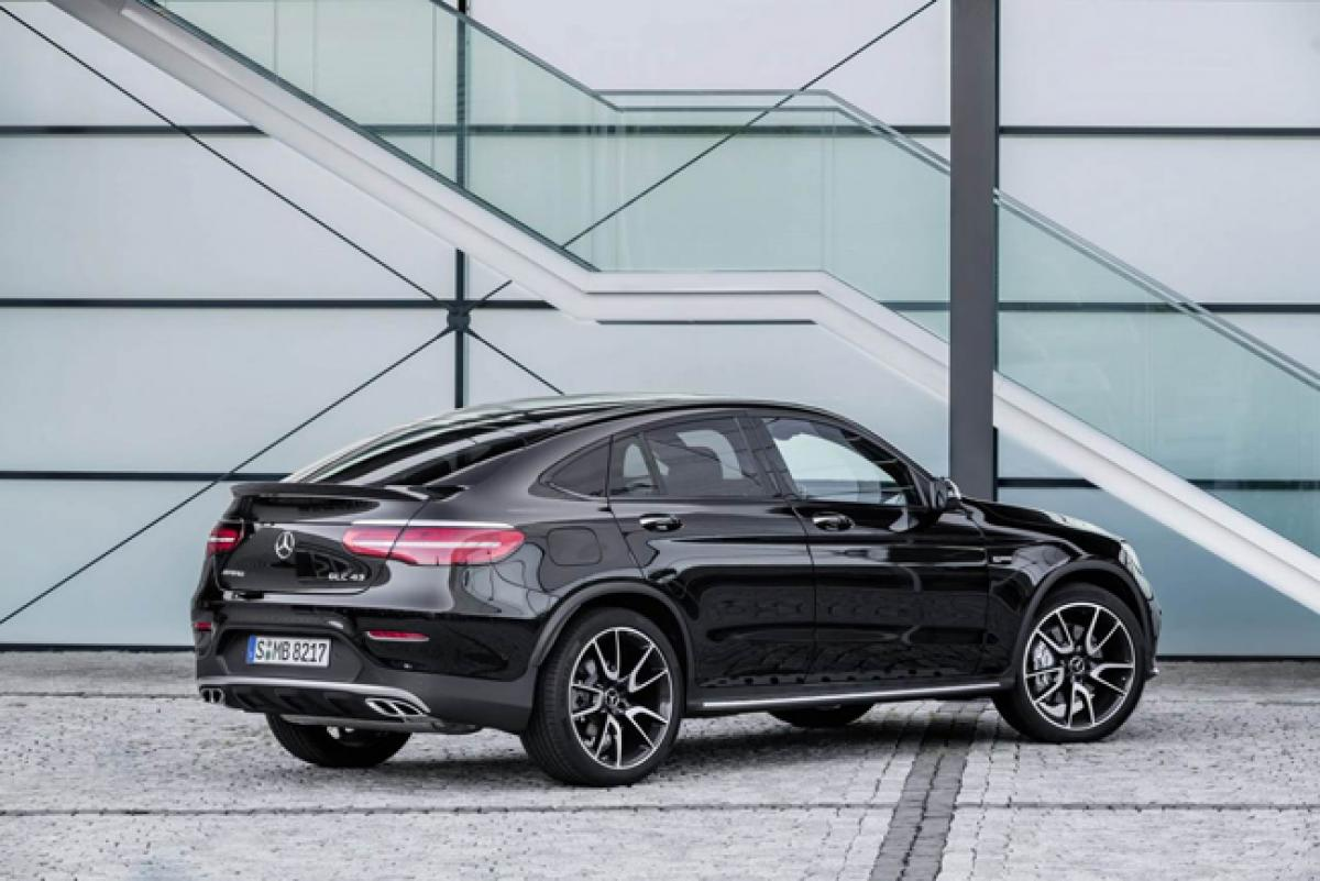 Range-topping variant Mercedes-AMG GLC 43 4MATIC unveiled